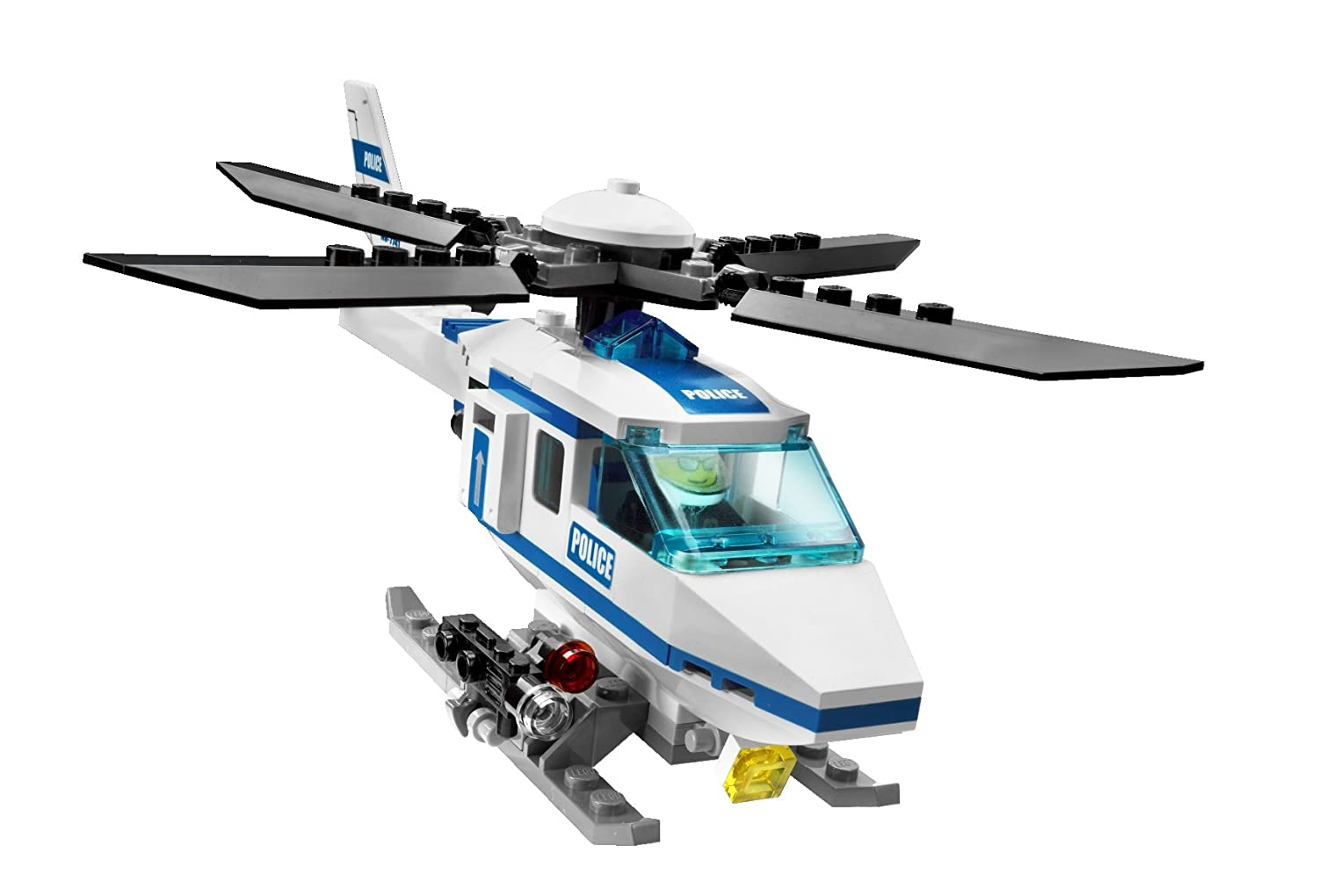 Lego City 7741 Police Helicopter Amazon Toys Games