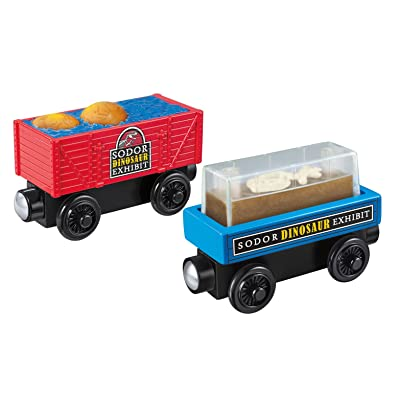 Fisher-Price Thomas & Friends Wooden Railway, Dino Fossil Discovery - Battery Operated: Toys & Games