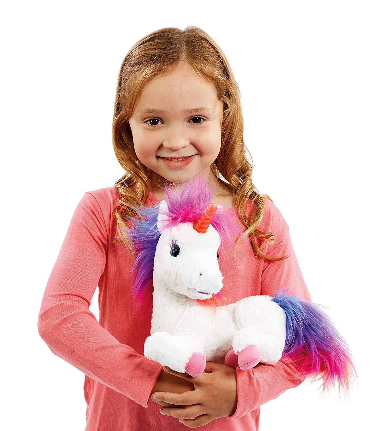 Animagic Rainbow - My Glowing Unicorn, a Soft Unicorn Plush Toy with Glowing Horn and Unicorn Sounds 7
