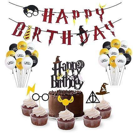 Amazon.com: Harry Potter - Juego de accesorios para fiestas ...