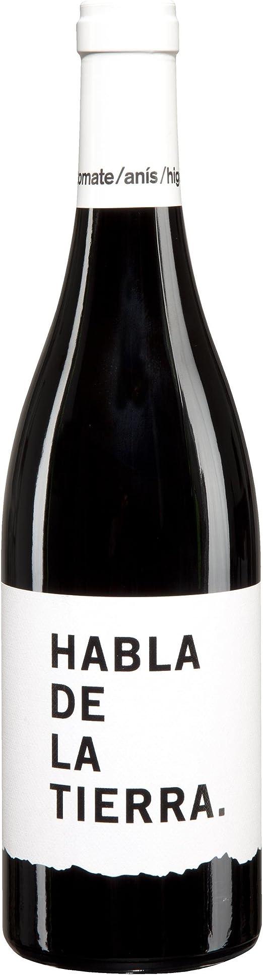 Habla De La Tierra Vino Tinto Botella 75 Cl Amazon Es Alimentación Y Bebidas