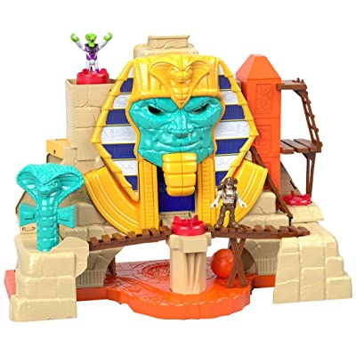 Fisher-Price Imaginext Serpent Strike Pyramid: Toys & Games