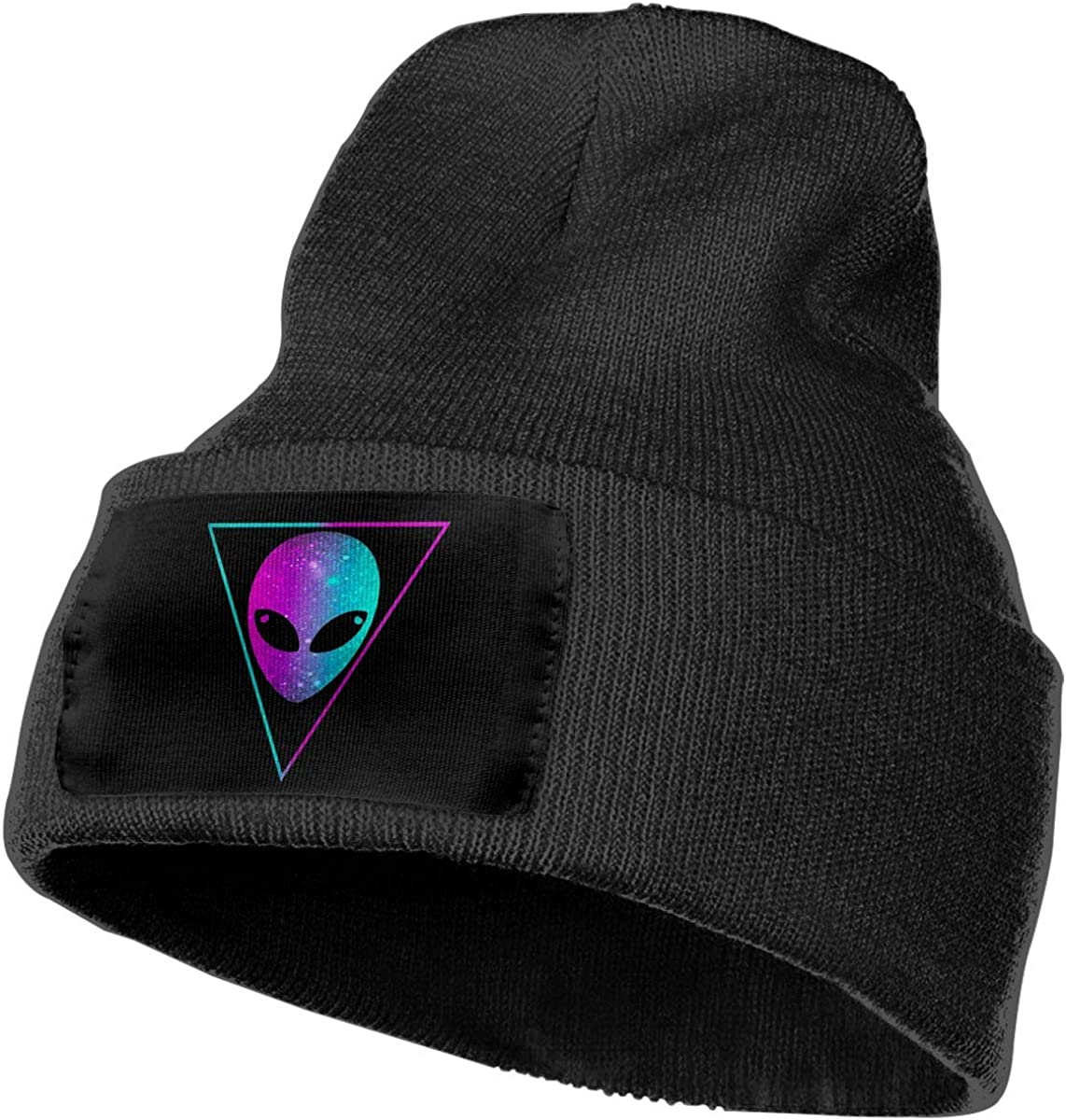 Unisex Winter Hats Psychedelic Alien Head Skull Caps Knit Hat Cap Beanie Cap for Men//Womens