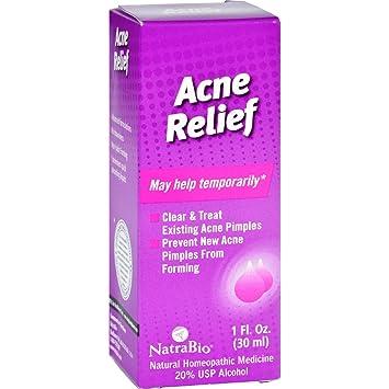 NatraBio, Acne Relief, 1 fl oz(pack of 12) Organic Doctor Rose Otto Day Cream, 1.7 Fl Oz