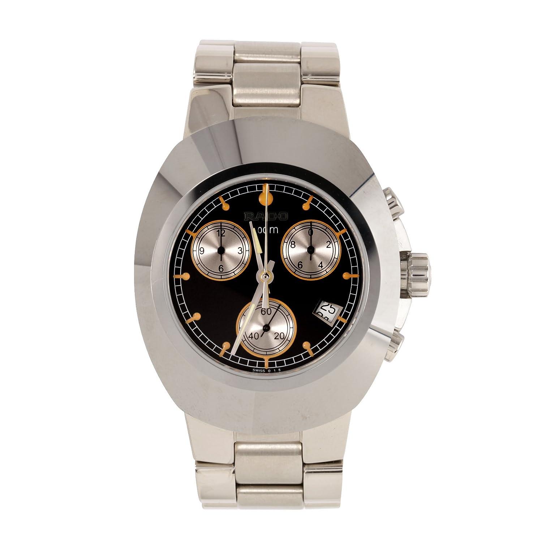 Rado元DiastarクロノグラフステンレススチールMens Watchカレンダーブラックダイヤルr12638153 B00EUS2MPO