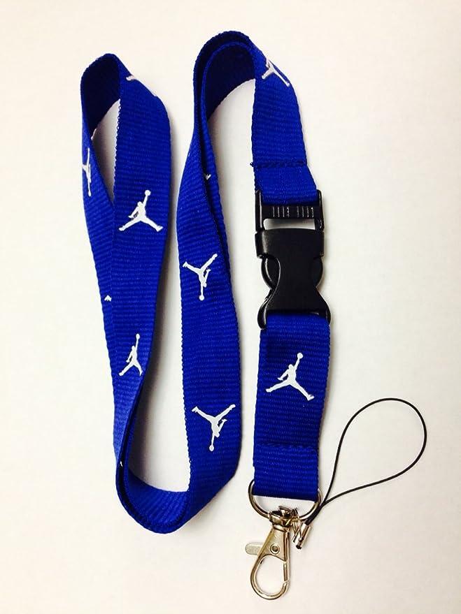 Amazon.com: Cordón de Jordan Jumpman, color azul: Sports ...