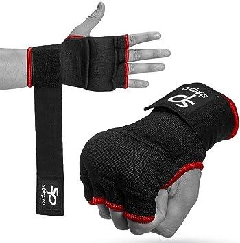 MEHRWEG RDX Elastisch Damen Boxen Innenhandschuhe Boxbandagen MMA Handschuhe Daumenschlaufe.