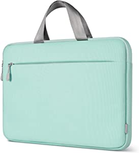 """Inateck 11.6-12.3"""" Chromebook Case Laptop Sleeve, Ultrabook Notebook Compatible with Chromebook r11/Surface pro 3/4/5/6/7/X - Mint Green"""