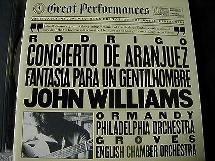 Amazon.com: Rodrigo-Concierto De Aranjuez: Music