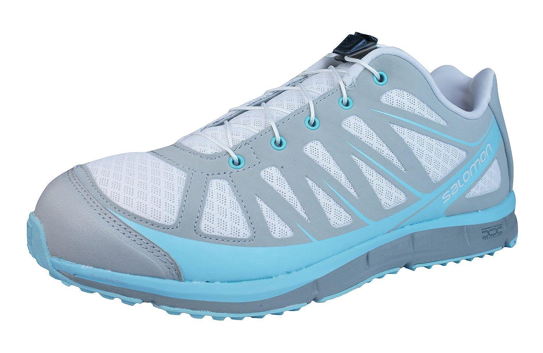 Salomon Kalalau W Chaussures de Running Femme Gris Bleu