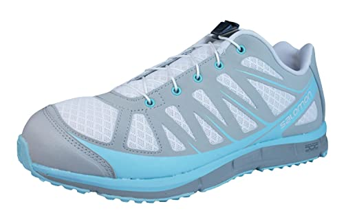 brand new 288af ef52e Salomon Kalalau Grey Womens Trail Running / Hiking Shoes ...
