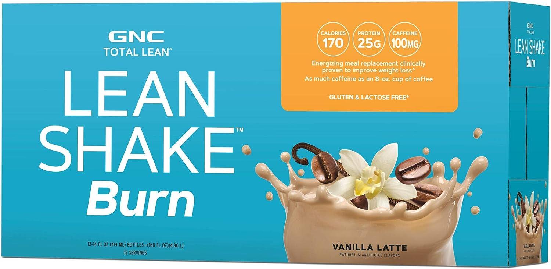 gnc lean shake fat burner