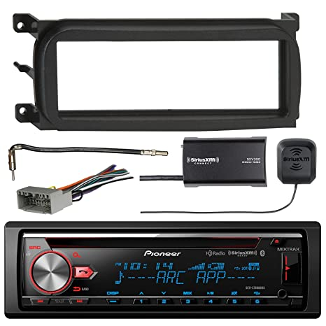 Pioneer DEH-X7800BHS CD Receiver with Enhanced Audio Functions, SiriusXM on