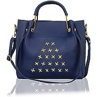 Bagclan Star Button Fancy Handbag For Girls/Women
