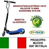 FP-TECH FP-SX-E1013-100 - Monopattino Elettrico 24 V/120 W, Nero