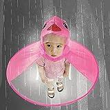SuBoZhuLiuJ Cute Children Raincoat UFO Shape