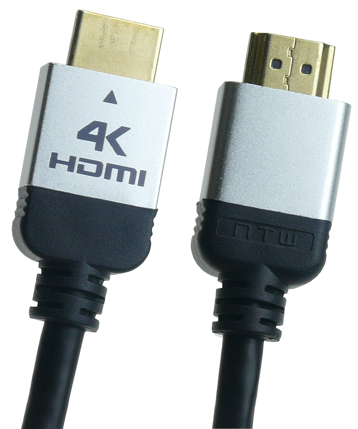 NTW NHDMI2P-012+ 12' Ultra HD PURE PLUS 4K High Speed HDMI Cable with Ethernet