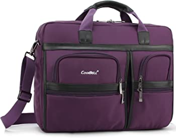 Coolbell Laptop 17.3 Inch Protective Briefcas Multi-Functional Hand Bag
