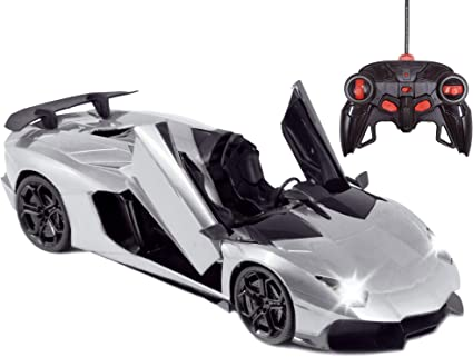 PowerTRC Licenced RC Car 1:14 Scale Pagani Huayra BC Radio Remote Control 1//14 RTR Super Sports Car Model with Open Doors