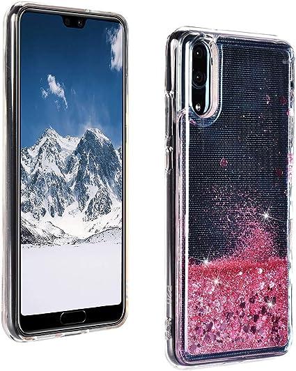 ToMoYi Blling - Funda para Huawei P20 con purpurina para teléfono ...