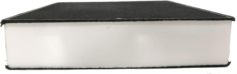 Filtro de carbón activo adecuado para campana extractora Oranier AFP 220. 1x Filter Negro: Amazon.es: Grandes electrodomésticos