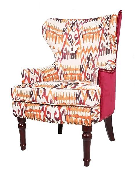 Azteca ortopédico Silla de Respaldo Alto sillón ala Fireside ...