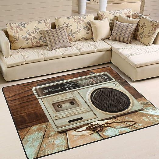 Use7 - Tapete para Mesa de Madera, diseño de grabadora de Radio ...