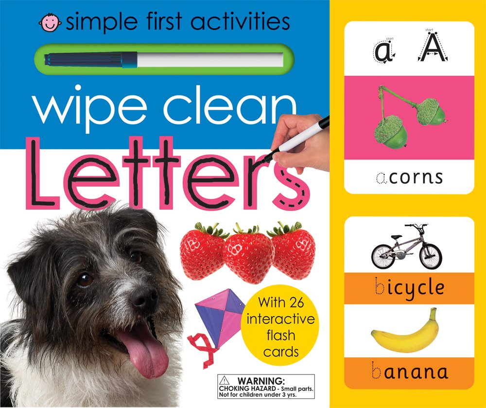Wipe Clean Letters Learning Books