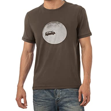 Texlab Full Moon Bulli T3 - Herren T-Shirt, Größe S, Braun