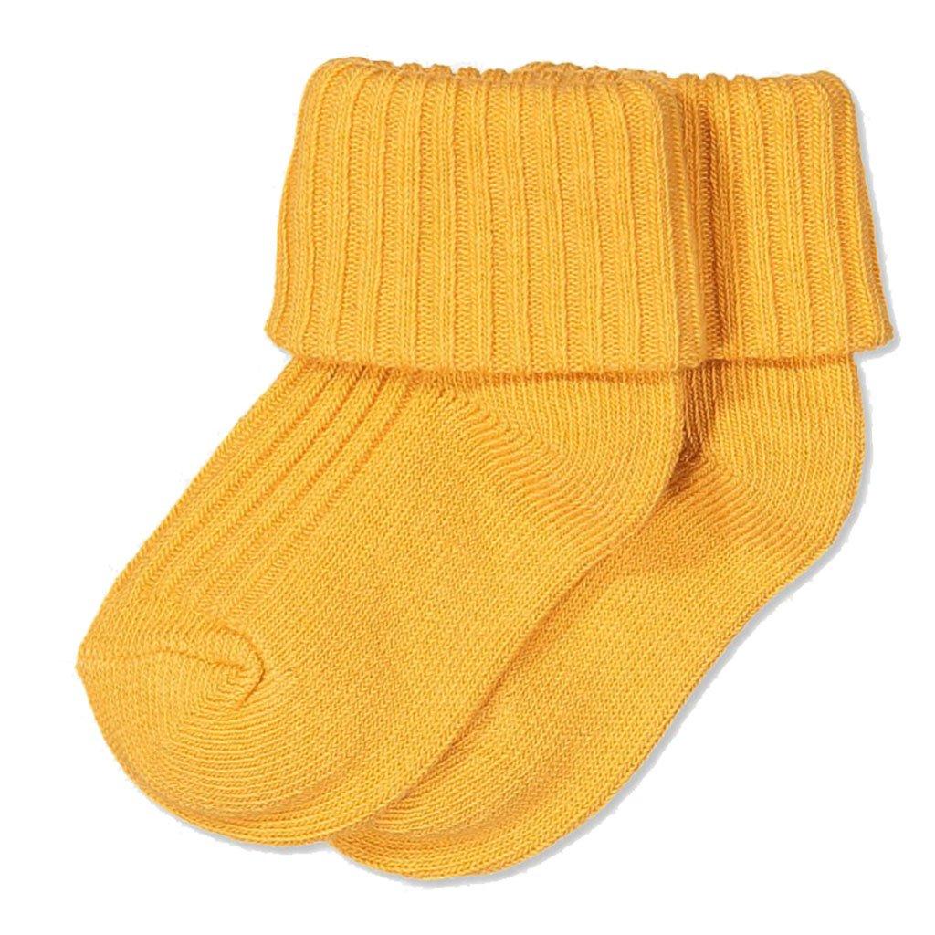 Polarn O. Pyret SOCKSHOSIERY ベビーボーイズ 1-4 Months Yolk Yellow B077NMV8PD