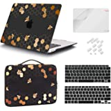 iCasso MacBook Air 13 Inch Case 2020 2019 2018 Release Model A2337 M1/ A2179/A1932, Plastic Hard Shell Case, Sleeve Bag, Scre