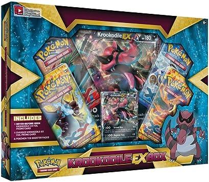 Pokémon - Pokemon - Caja Krokodile Ex (versión español): Amazon ...