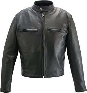 product image for Cafe Racer Jacket Brown (50 Long/Tall)