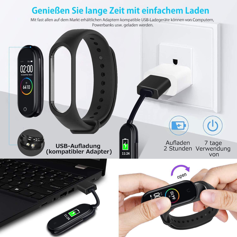 Smartwatch con pulsómetro, pulsera de fitness, reloj deportivo con ...