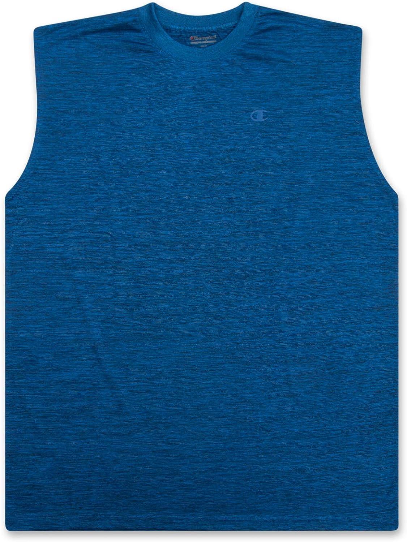 Champion Big and Tall Men's Workout Tank Top - Sleeveless Gym Jersey Muscle Shirt Tank