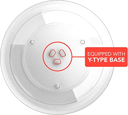 Amazon.com: Microwave Plate Replacement, 12.4-inch Diameter ...