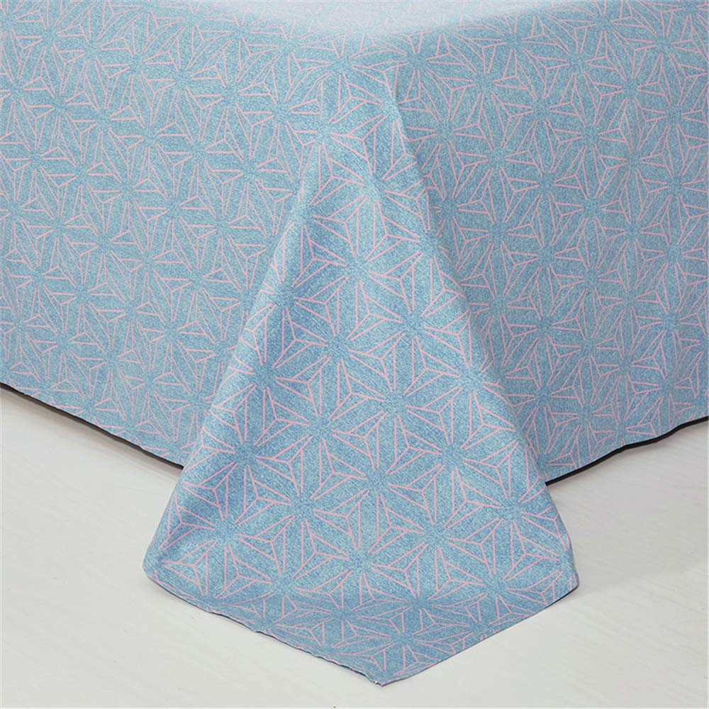 Cotton Double Bed Single Piece Simple Cotton Bed Plain Cotton Single Protection Sheet Single Product Natural Soft Skin Delicate Literary Fan 230245cm by iangbaoyo