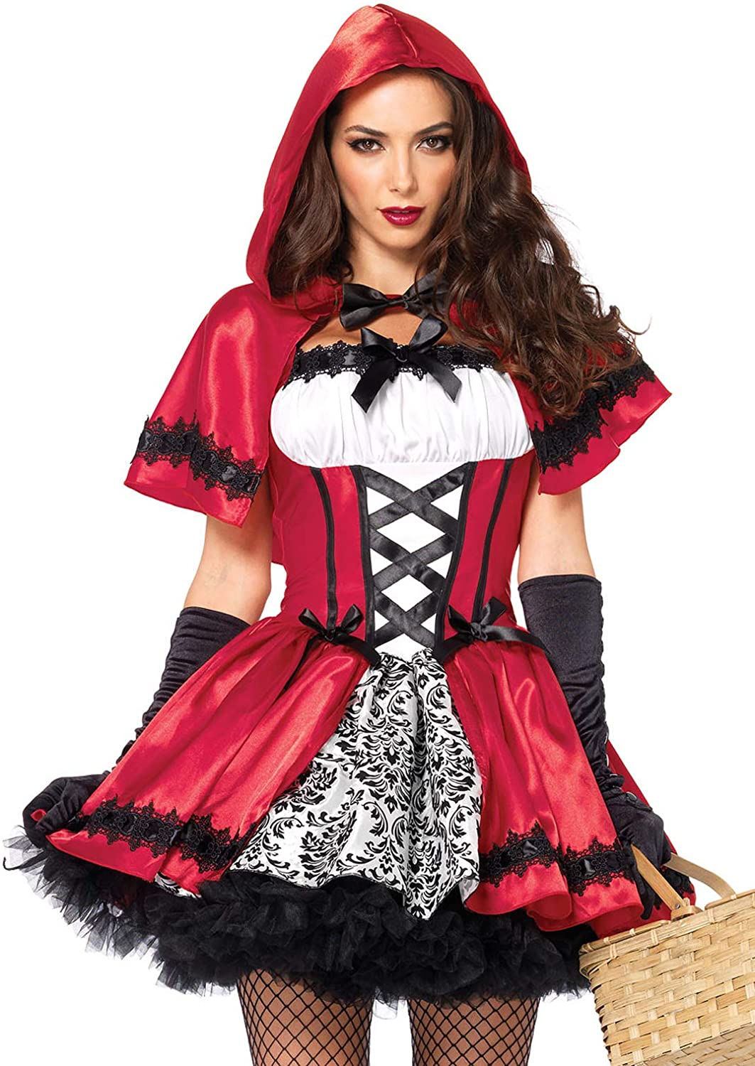 Leg Avenue Women's Gothic Red Riding Hood Costume