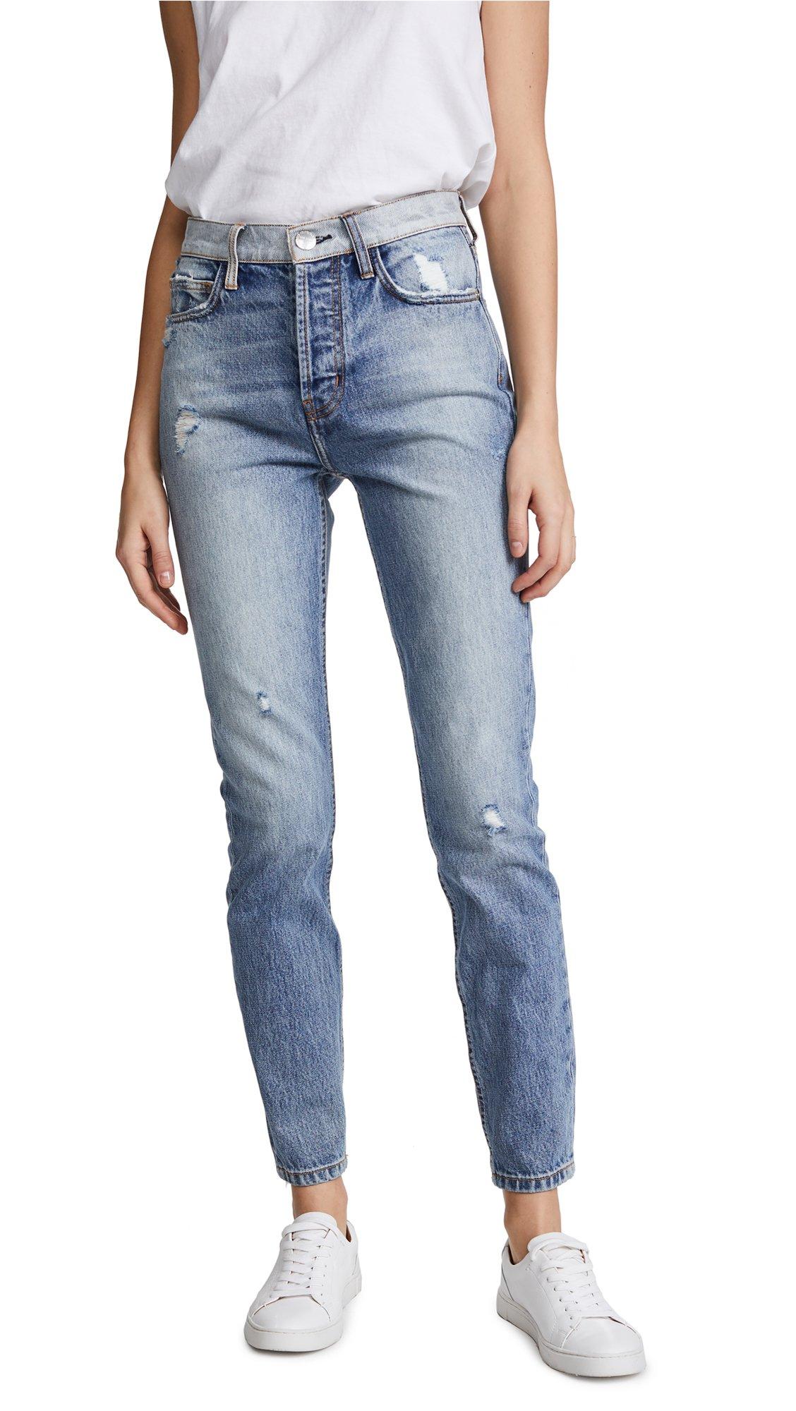 Current/Elliott Women's The Ultra High Waist Skinny Jeans, Branwen Destroy, 27