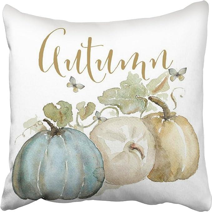 Fall Thanksgiving Autumn Pumpkin Cushion Cover Pillow Case Sofa Home Decor Art