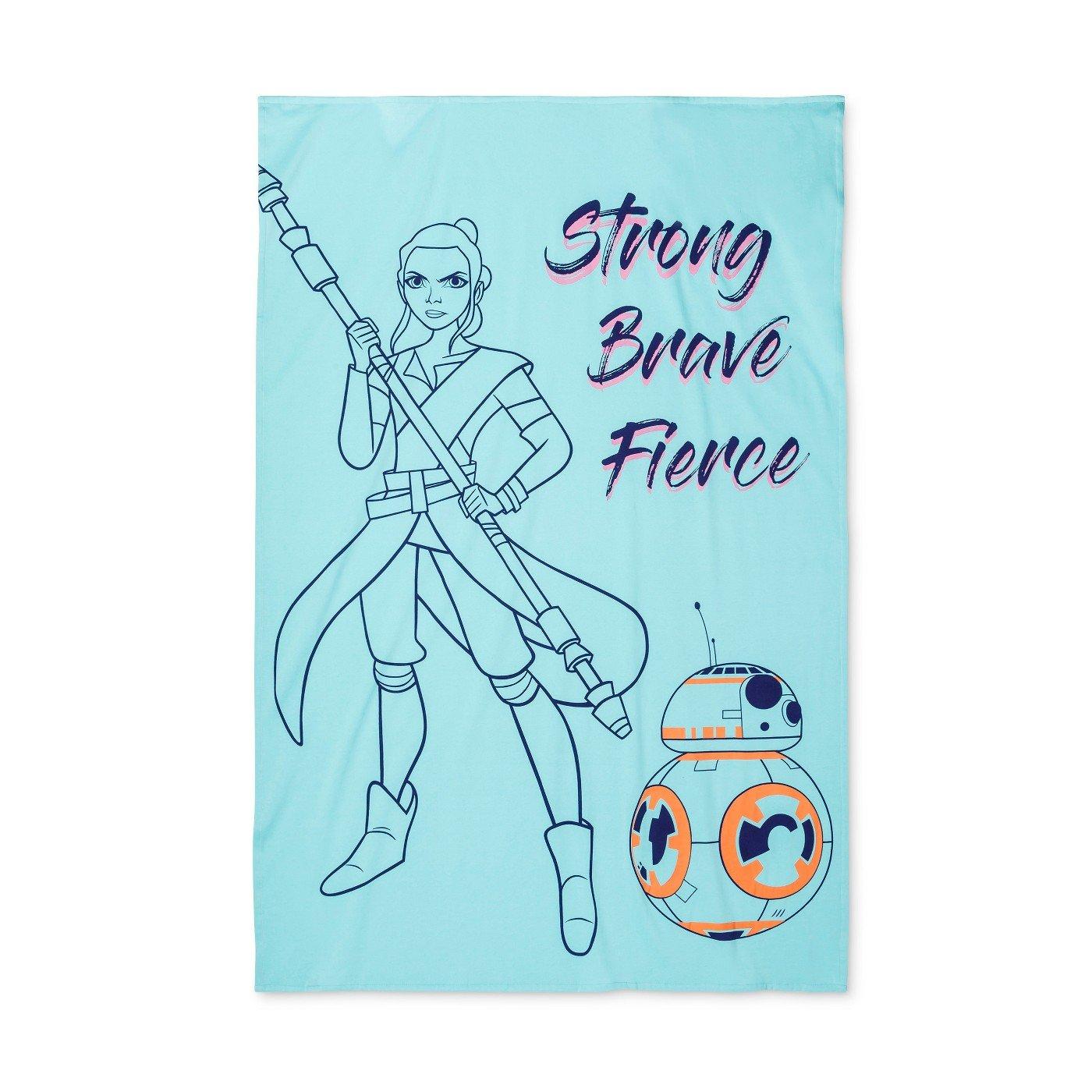 Star Wars Forces of Destiny Sweatshirt Blanket 60 x 90