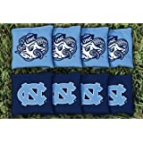 North Carolina UNC Tar Heels Replacement Cornhole Bag Set (corn filled)