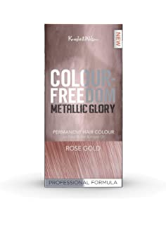 Knight   Wilson Colour Freedom Metallic Glory Rose Gold Permanent Hair  Colour b9f36a9ac85