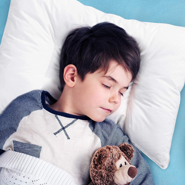 2 Pack Kids Pillows For Sleeping Oeko Tex 100