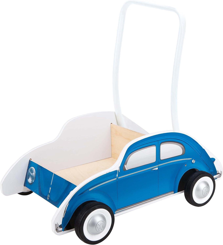 Hape HAP-E0382 Classic Blue Buggy Walker Multicolor