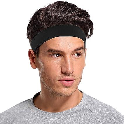 Sports Sweat Sweatband Headband Yoga Gym Stretch Hair Band Unisex Fashion