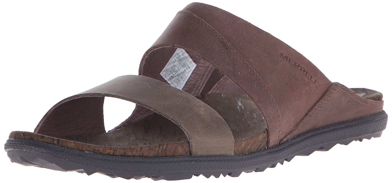 7254c6d9863 Merrell Women s Around Town Slide Sandal Blue  Amazon.co.uk  Shoes   Bags