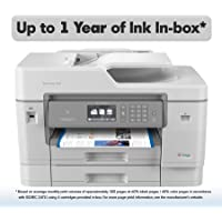 Brother MFCJ6945DW Wireless Color Inkjet All-in-One Printer with Duplex