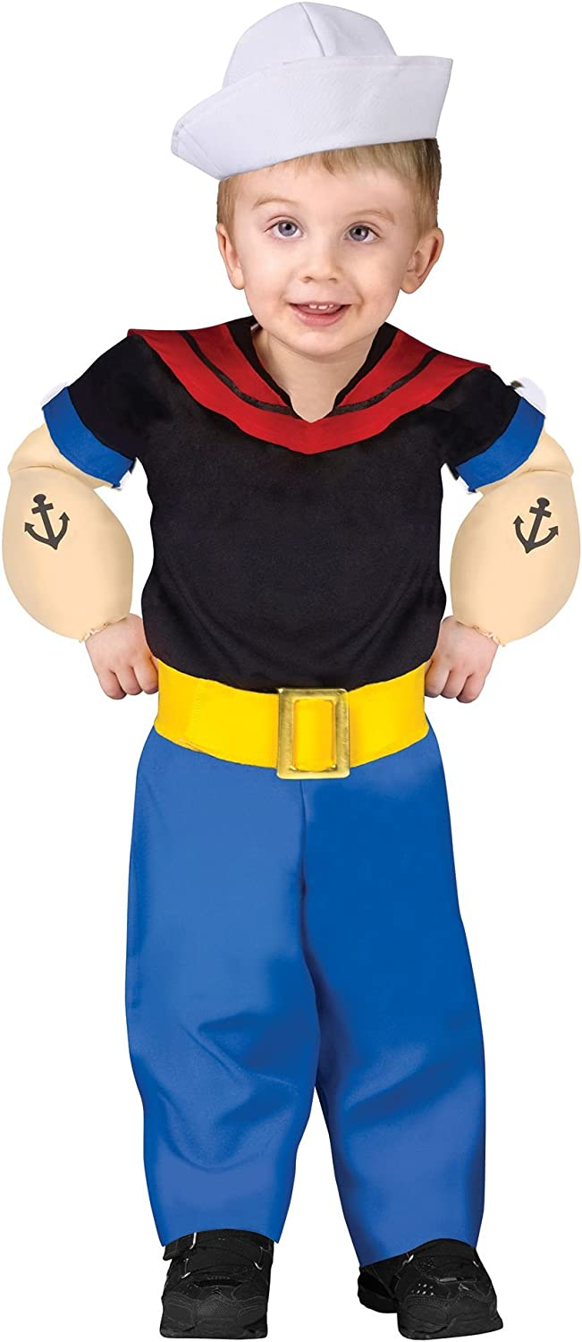 Fun World Popeye Infant Toddler Costume