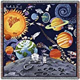 Pure Country Solar System Small Blanket Tapestry Throw